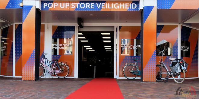 Pop-up store Veiligheid Roosendaal - (c) Noordernieuws.be 2019 - 01