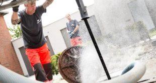 Reiniging en inspectie riolering Dorpsstraat