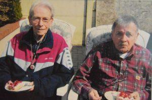 Stan Oerlemans (links) met jongere broer Leo - (c)Noordernieuws.be 2019 - HDB_8338s