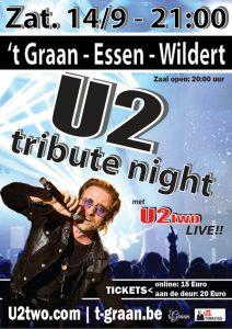 Sam Kramer - Imitator U2 zanger Bono - U2tribute - t Graan - Essen-Wildert - U2two