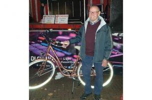 23.824 kilometer met de fiets tijdens Gerinkel naar de Winkelactie
