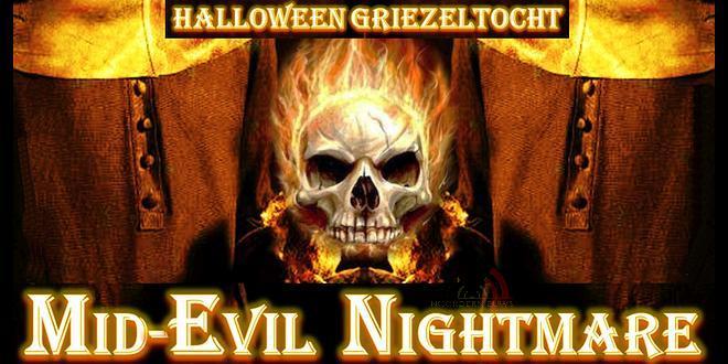 Halloween tocht Mid-Evil Nightmare - Rouwmoer Kloostertuin College Essen - 31 oktober 2019 - Noordernieuws.be