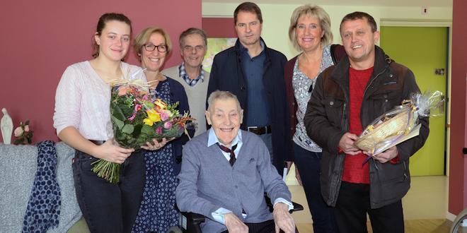 eeuweling Jos Roosens viert vandaag zijn 103e verjaardag