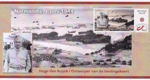 vtbKultuur Kalmthout eert architect van landingskaart van Normandië