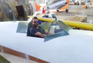 Jan Bervoets - Hobby luchtvaart - lente 2013- Supermarine Spitfire replica -Static museum in Port Elisabeth