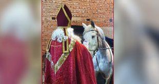 Sinterklaas met paard - (c) Noordernieuws.be 2019