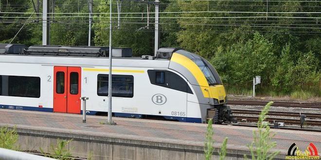 spoorwegovergang C. Pallemansstraat onderbroken