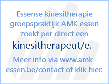 Vacature - Kinesist - Kinesietherapeut - AMK essen - Enthousiaste collega gezocht
