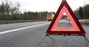 Autopech op een autosnelweg in Wallonië