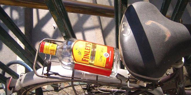 Riskeer je je rijbewijs te verliezen als je dronken fietst