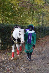 Sinterklaas tot volgend jaar! - Zwarte piet met het paard van Sinterklaas - Noordernieuws.be 2019