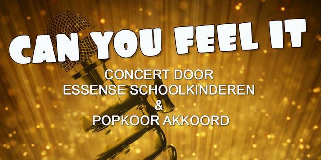Zing je mee? Concert door Essense schoolkinderen