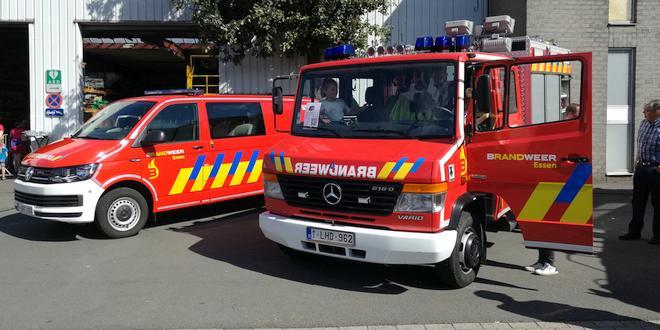 Brandweer houdt oefeningen in leegstaande huizen Burgemeester Dierckxsensstraat