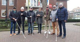 Burgemeester en schepenen gaan blindenuitdaging aan