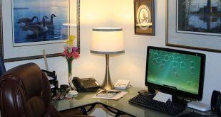 Een praktijk, schoonheidssalon of kantoor in huis