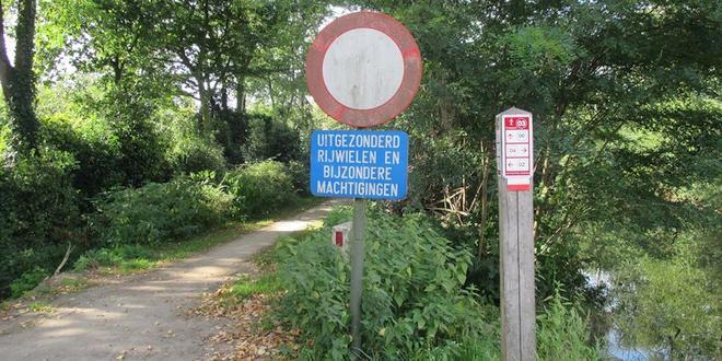 GroenRand wil dat fietspad langs Antitankgracht wordt doorgetrokken