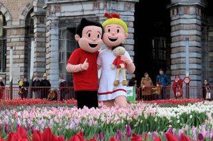 Vandaag was de gratis Tulpenpluk met Suske en Wiske - Noordernieuws.be - 19u