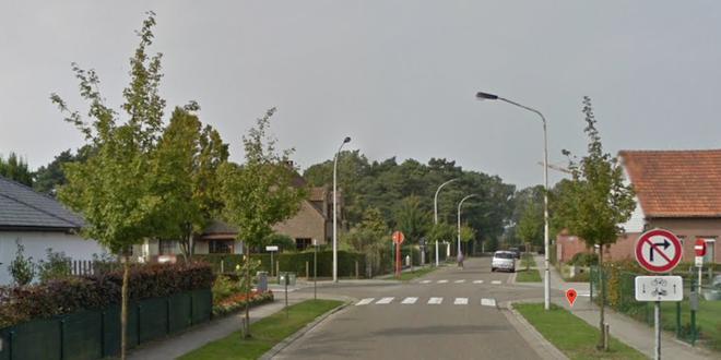Werken kruispunt Korte Nieuwstraat Edith Cavellaan