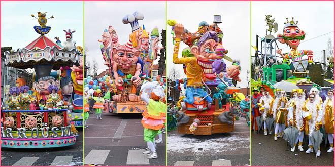Carnaval Essen - Winnaars stoet 2016,2017,2018,2019