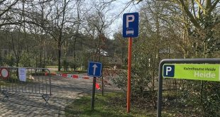 Alle parkings aan de Kalmthoutse Heide afgesloten