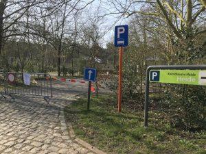 Beperkte toegankelijkheid van Grenspark Kalmthoutse Heide2