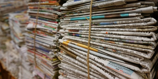 Papierophaling weer volgens de Afvalkalenderde
