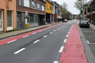 In de ban van het Corona-virus - Verlaten en lege straten in Essen - (c) Noordernieuws.be - HDB_0947u