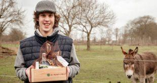Koop een lokaal cadeaupakket gemaakt van gerecycleerd materiaal