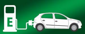 Met een elektrische auto naar het buitenland