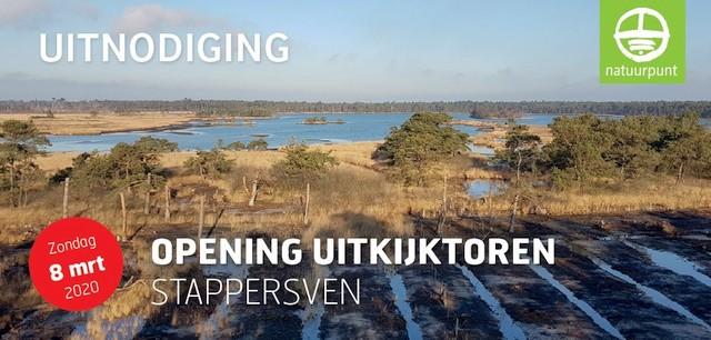 Natuurpunt opent uitkijktoren in Grenspark Kalmthoutse Heide