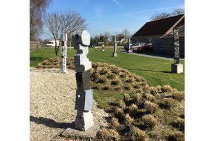 'Spring'tentoonstelling beeldentuin New Jorg Gallery