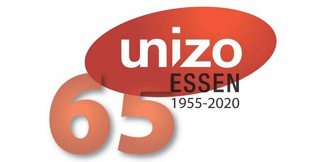 Unizo - Essen - Logo 65 jaar