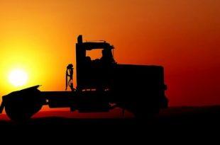 Vrachtwagenparking