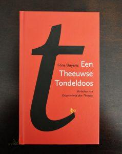 Boek - Een Theeuwse Tondeldoos - Schrijver Fons Buyens - Fietsenmaker Den Theeuw - Kalmthout-Nieuwmoer - (c) Noordenieuws.be 2020 - HDB_1195