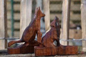De Hobby van Tom Van Thienen - Native American Flutes - Noordernieuws.be 2020 - Carving