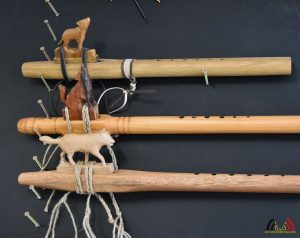 De Hobby van Tom Van Thienen - Native American Flutes - Examples
