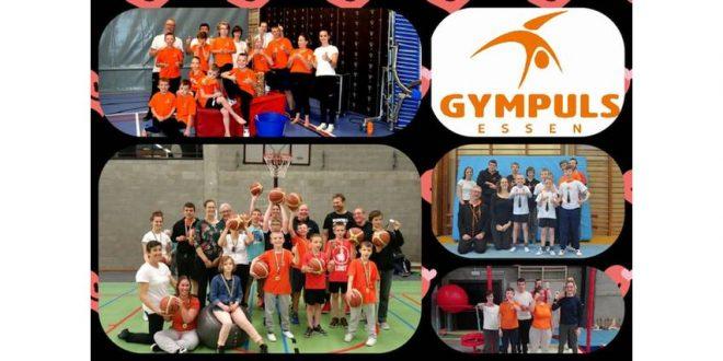 Stoepkrijt challenge voor de G-gymnasten van Gympuls