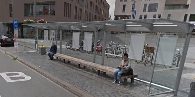 Tijdelijke aanpassing bushalte en fietspad ovonde