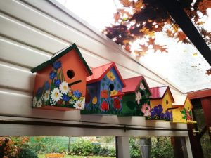 Aoi Wongwat - Hobby Kunstschilderen - Vogelhuisjes 8