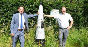 Burgemeesters Essen en Woensdrecht openen grens tussen België en Nederland na Corona - HDB_1436u65
