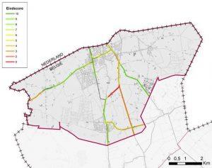 Gemeente Essen scoort 6,7/10 op Provinciale Fietsbarometer