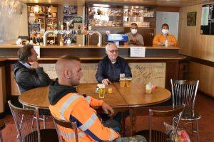 Genieten na lockdown in cafés Essen - Café De Meeuw - (c) Noordernieuws.be - HDB_1386