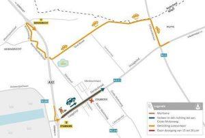 Heraanleg van de Dorpsstraat en Laageind (N111) in Stabroek
