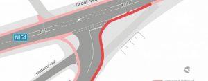 Kruispunt Klein Veerle en Groot Veerle wordt veiliger voor fietsers