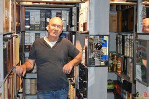 Marc Van Goethem - Verzamelaar Whiskykokers - Whisky Sleeves
