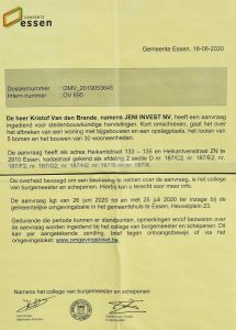 Vergunningsaanvraag nieuwbouw 24 appartementen tussen Heikantstraat en Heikantvenstraat Essen (c) - Noordernieuws.be 2020 - HDB_1542