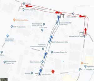 Wegenwerken in Essen tot 30 juni4