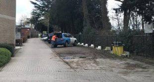 Werken voor verkeersveilige schoolomgeving gbs De Schakel van start