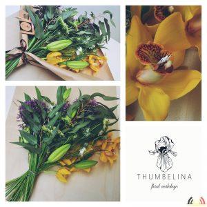 Anna Dudek - Beroep Florist - Bloemschikken - Thumbelina Floral Workshops - Collage 20200601_203928451