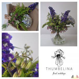 Anna Dudek - Beroep Florist - Bloemschikken - Thumbelina Floral Workshops - Collage